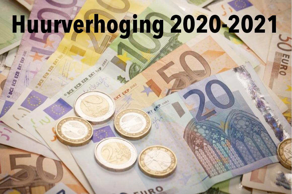 Huurverhoging 2020-2021